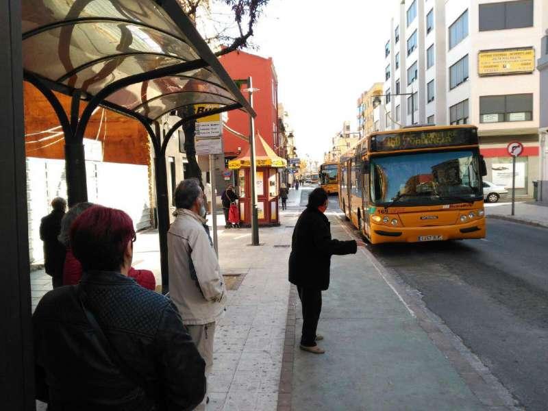 Autobús en Xirivella