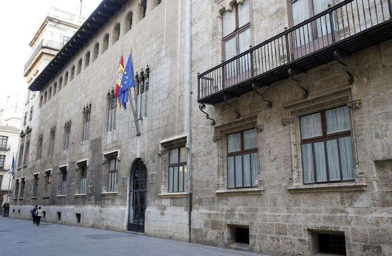 El Palau de la Generalitat, sede del Gobierno valenciano. EFE/Archivo