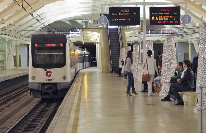 Imagen archivo del metro de València. EPDA
