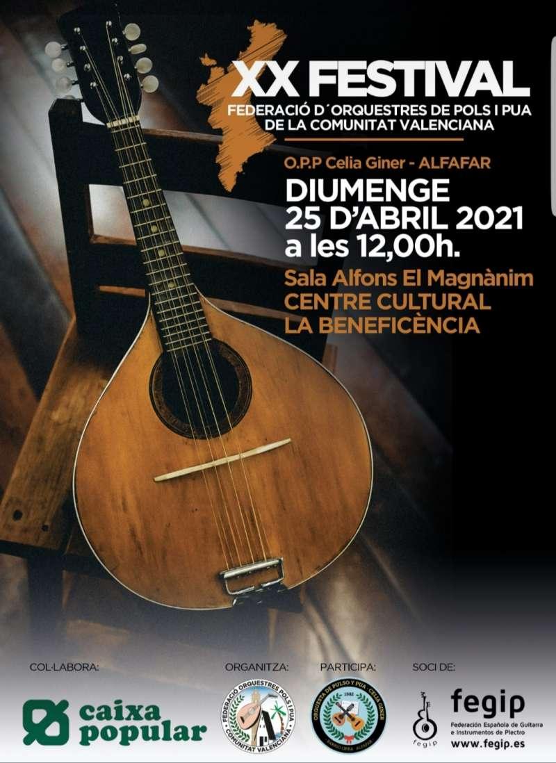 Cartel anunciador XX Festival d