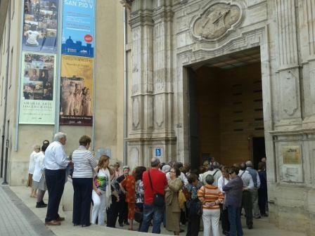 La comitiva visitó el Palau de la Generalitat y el Museo Pío V. Foto: EPDA.