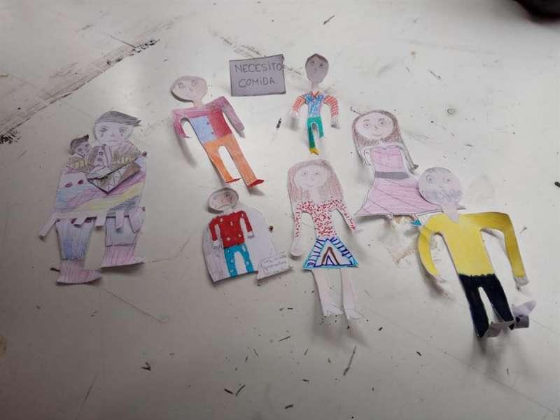 Escolares valencianos plasman en un corto su visión de los Derechos Humanos.- EFE