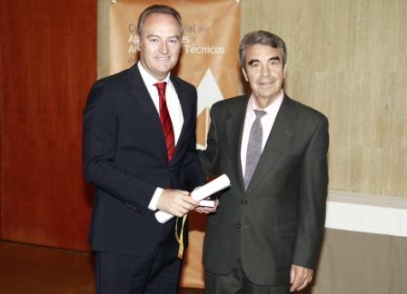 El president de la generalitat alberto fabra ha recibido - Aparejadores valencia ...