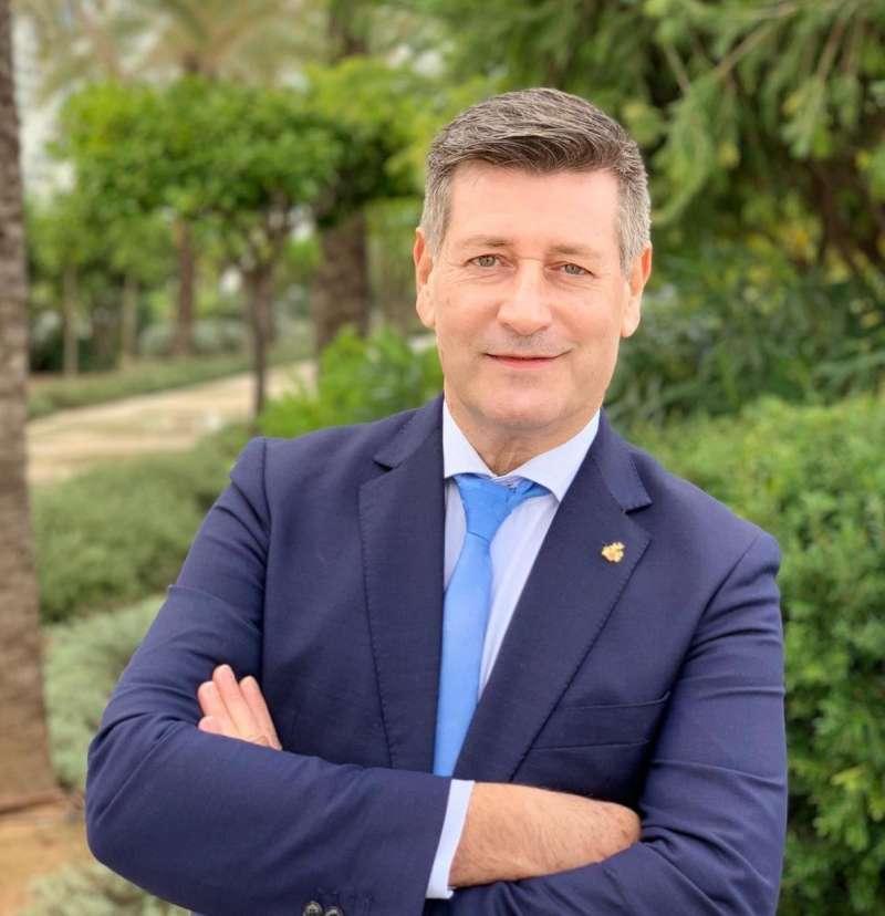 El candidato de Contigo Somos Democracia en la ciudad de València, José Enrique Aguar
