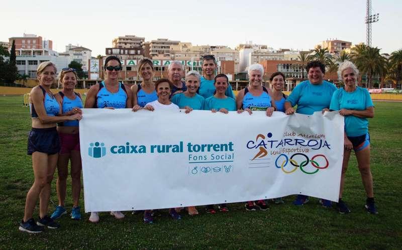 Equipo femenino de atletismo de Catarroja