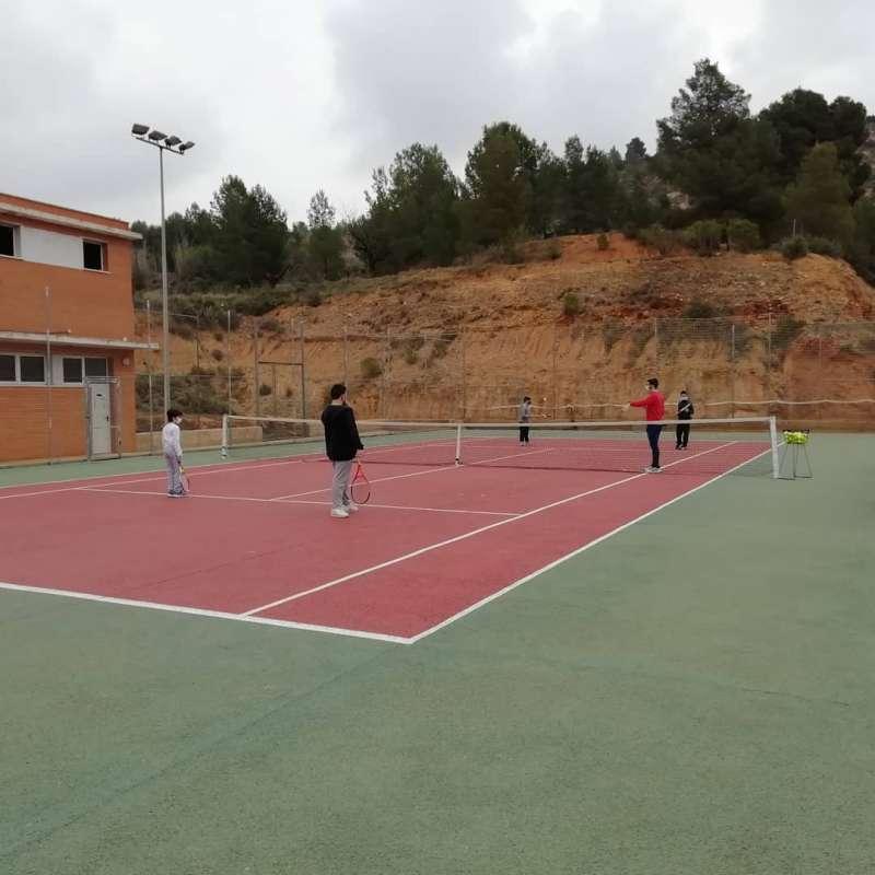 Pista de tenis municipal. / EPDA