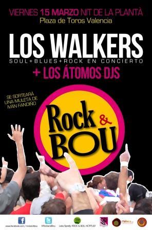 Cartel de Rock & Bou. Foto EPDA