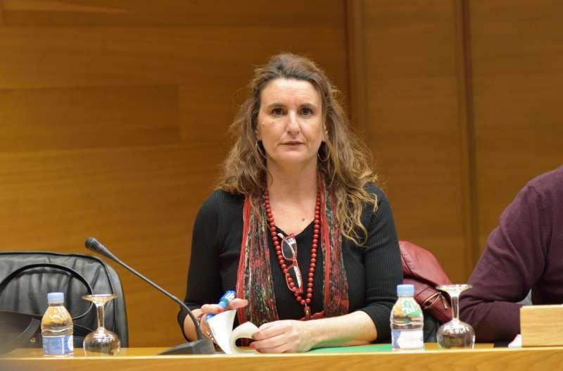 La secretaria general del PSPV-PSOE de la provincia de València, Mercedes Caballero. / EPDA