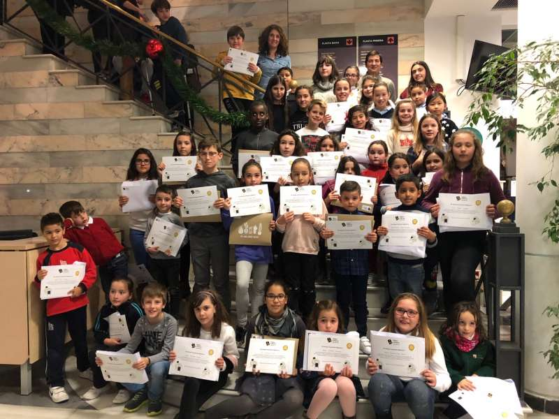Campaña de concienciación en los centros educativos de Burjassot.