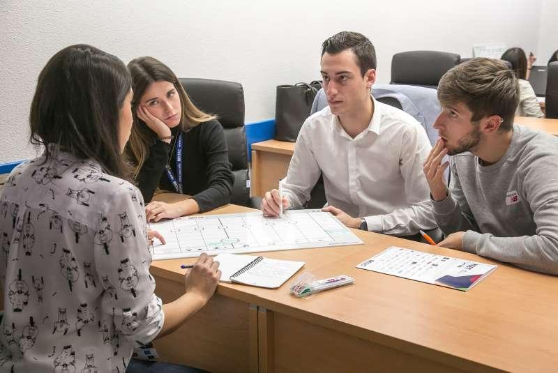 Uno de los jóvenes participes de la XV edición del Meet Foro de Empleabilidad y Emprendimiento. - EPDA