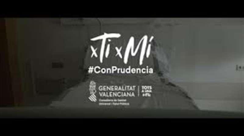 Foto fija del vídeo de una de las campañas de la Generalitat relacionadas con el coronavirus.