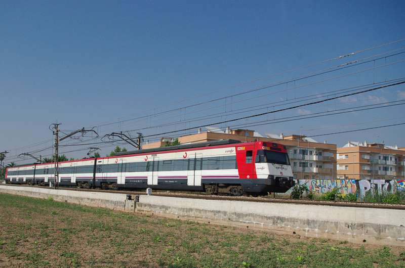 El tren Gandia-Dénia