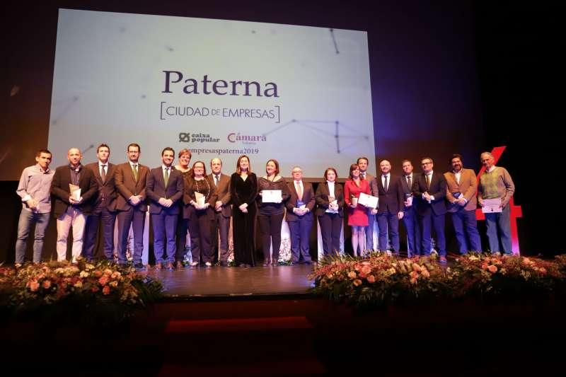 Ganadores de la IV edición Paterna Ciudad Empresas