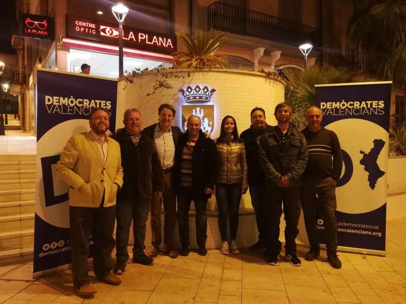 Demòcrates Valencians en Torreblanca
