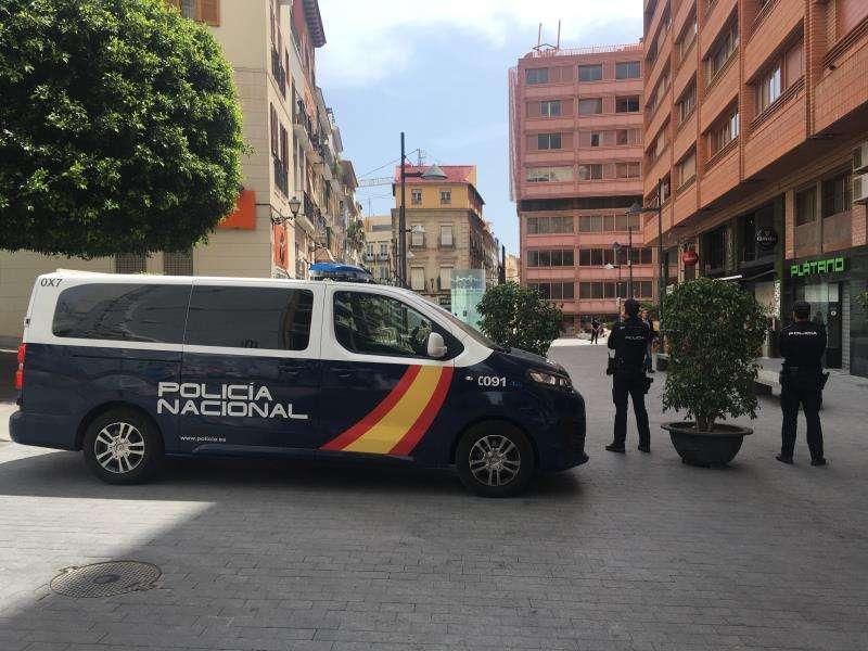 Operación de la Policía Nacional en Alicante, en una imagen de este cuerpo policial.