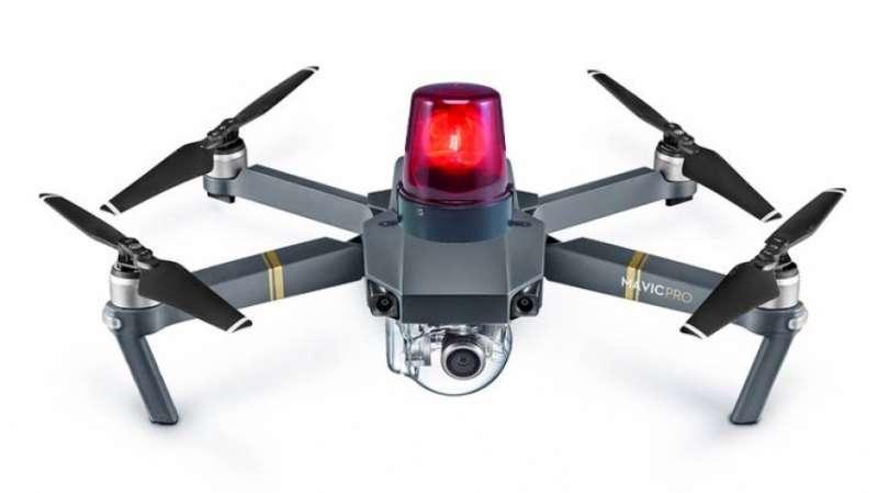 Imagen de un dron de vigilancia. -EPDA