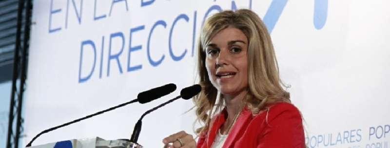 La coordinadora general del Partido Popular de la Comunitat Valenciana, Eva Ortiz