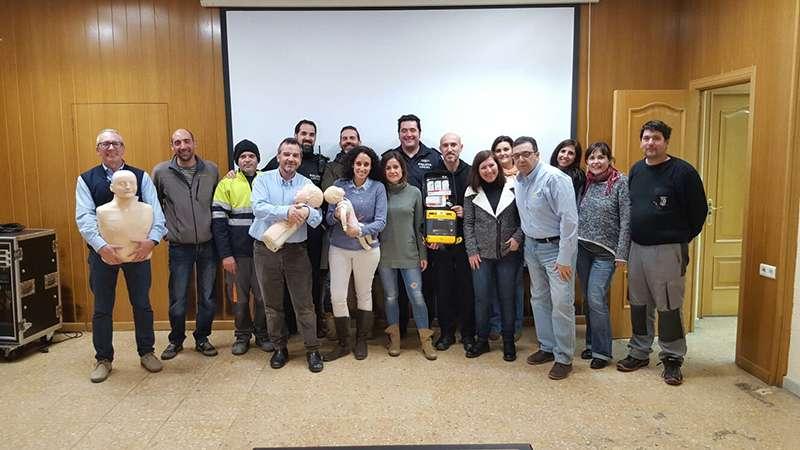 Foto de los participantes en el curso.EPDA