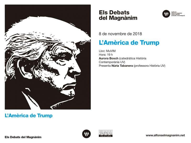 La historiadora Aurora Bosch analiza la América de Trump en ?Els Debats del Magnànim?. EPDA