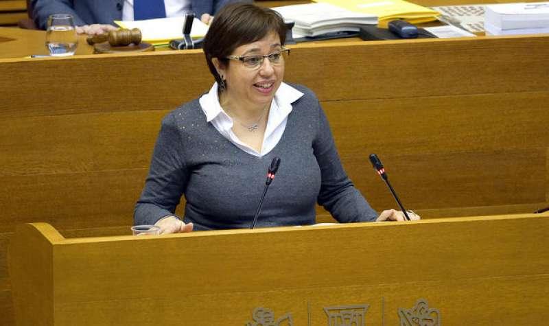 Sabina Escrig, diputada del PSPV en les Corts. FOTO PSPVPSOE.NET
