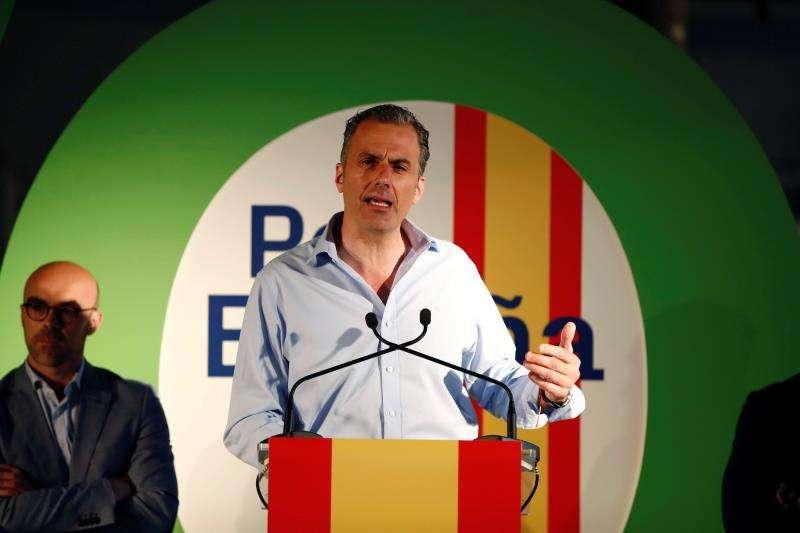 El candidato a la Alcaldía de la Madrid por VOX, Javier Ortega Smith. EFE/Archivo