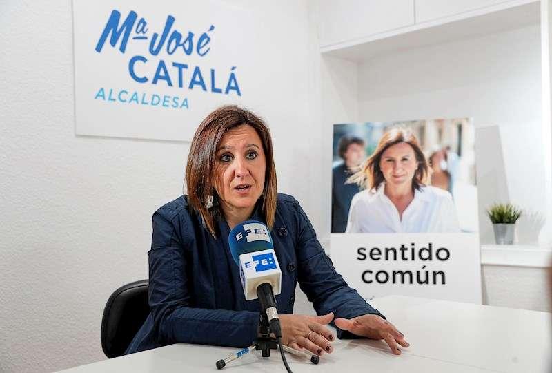 La portavoz del PP en el Ayuntamiento de València, María José Catalá. EFE
