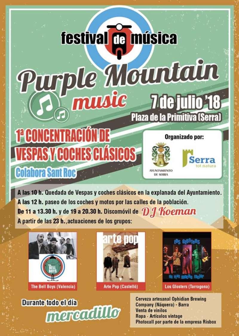 El festival de música Purple Mountain obri l?estiu a Serra