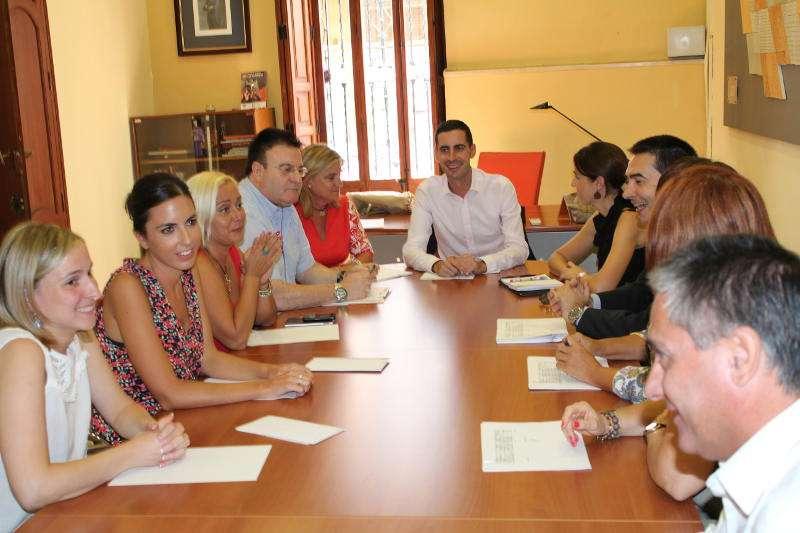 Reunión con el nuevo presidente de la Mancomunitat. //EPDA