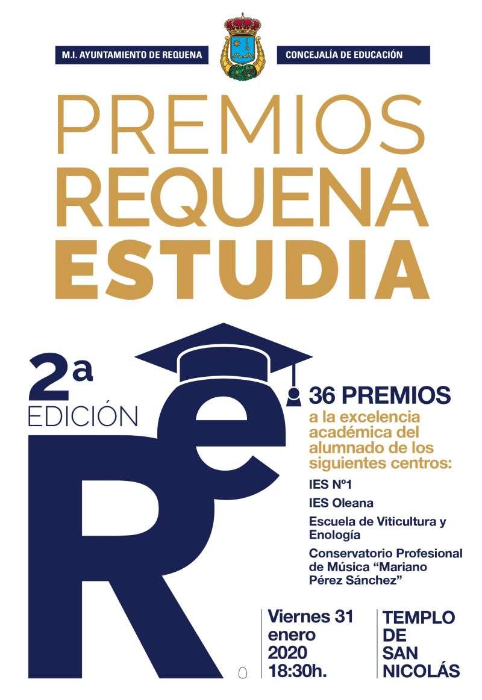 Premios Requena Estudia. -EPDA