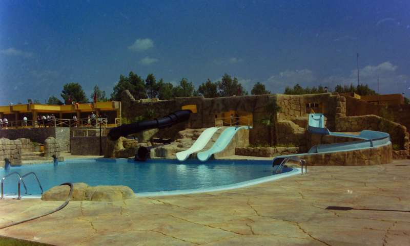 Piscinas del Segóbriga Park