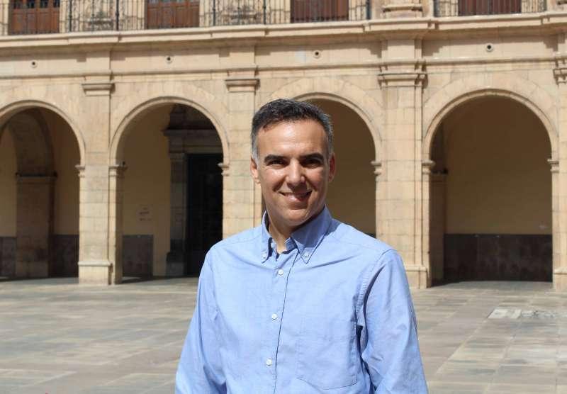 El portavoz de Ciudadanos Alejandro Marín-Buck. EPDA