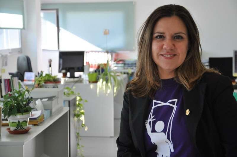 La portaveu de Compromís, Mònica Álvaro