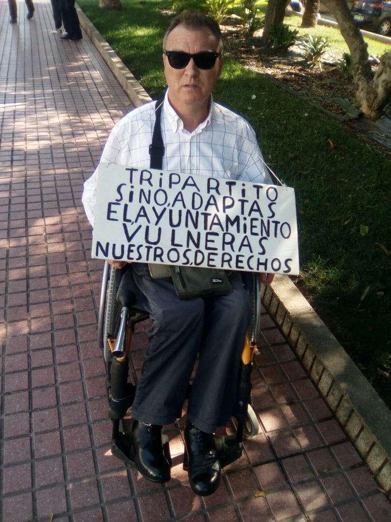 Salvador Esteve, vecino de Benetússer. EPDA