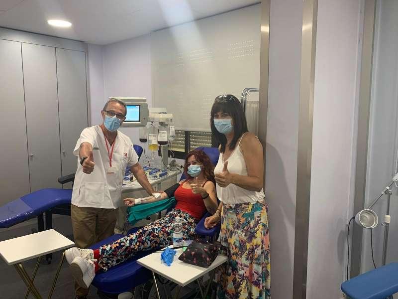 Mar y Sombra colabora con el Centre de Transfusions de la Comunitat Valenciana. EPDA.