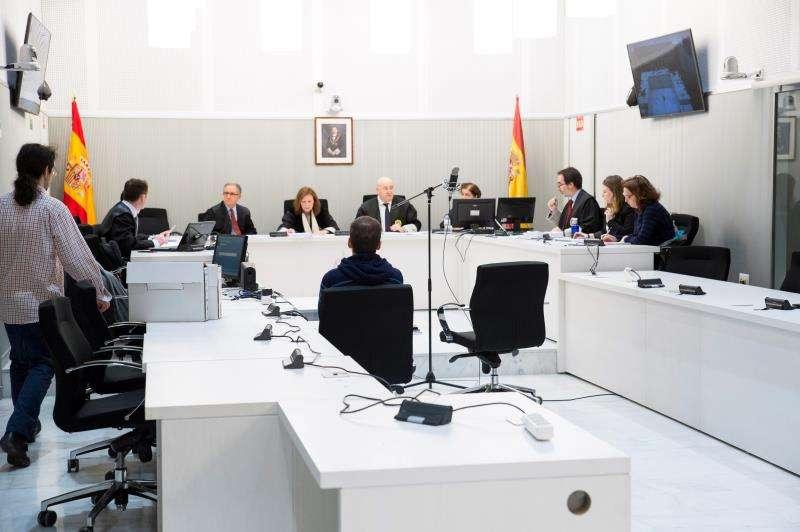 Una sesión de un juicio en una imagen de archivo. EFE/Archivo