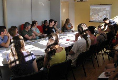 Reunión de coordinación organizada por Pactem Nord. Foto: EPDA.