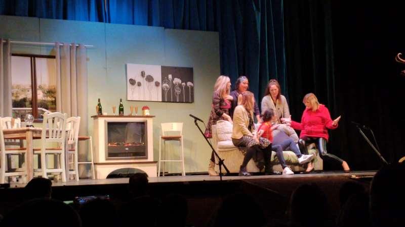 Una de las actuaciones durante el concurso de teatro. EPDA