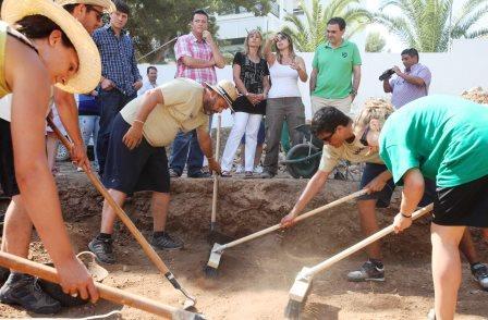 Campos de trabajo de tipo arqueológico en la Comunitat. Foto EPDA
