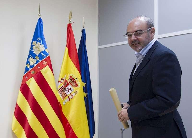 El que fuera portavoz del PP en el Ayuntamiento de València Eusebio Monzó. EFE/Miguel Ángel Polo/Archivo
