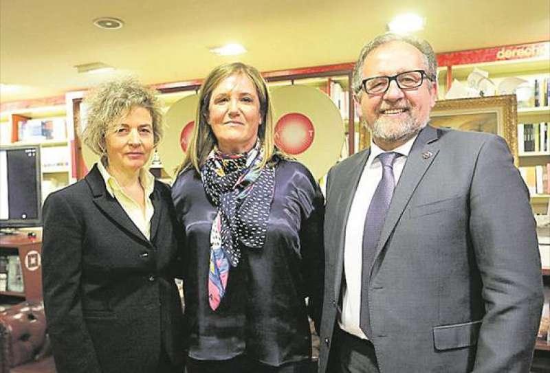 Finalista, ganadora y Presidente de la Diputación en Argot