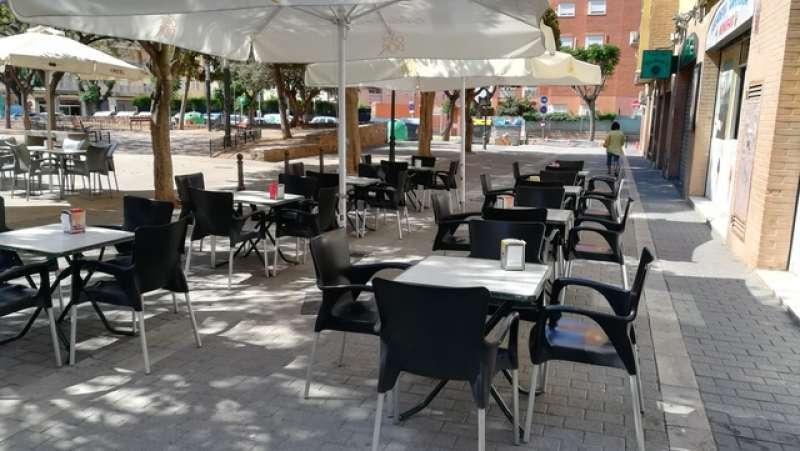 Imagen de una terraza de un restaurante. / EPDA