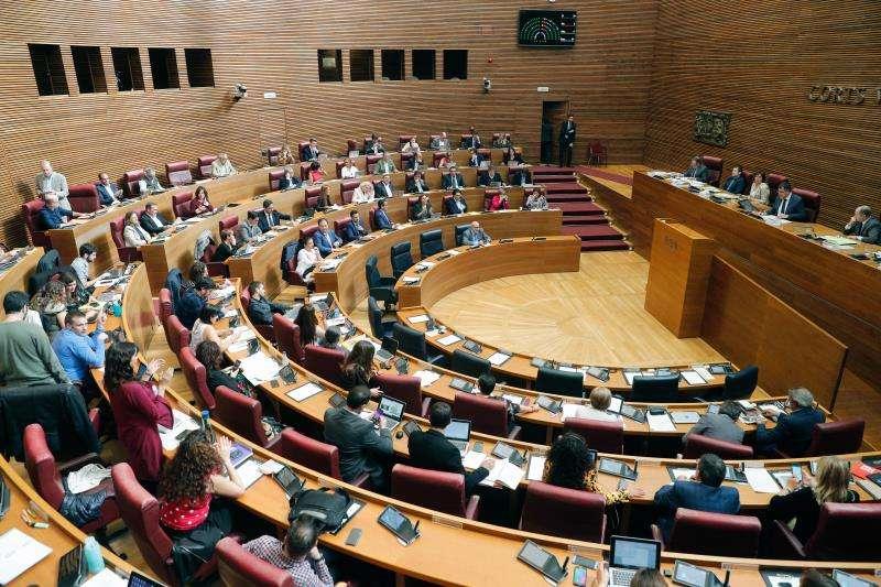 El pleno de Les Corts. EFE/Archivo
