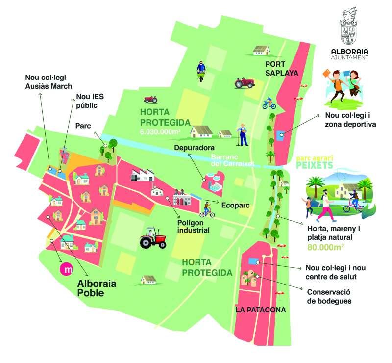 Plano general de la ciudad