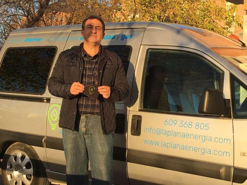 Luis Monterde, gerente de La Plana Energía