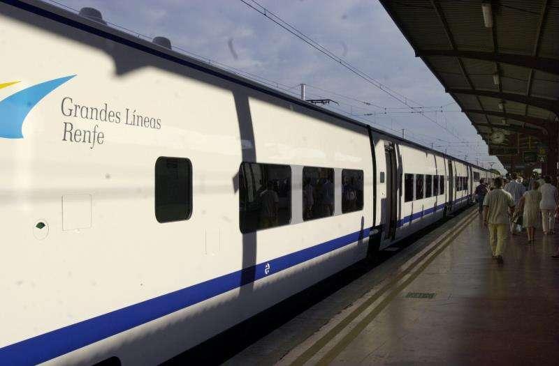 Tren en la estación. EFE