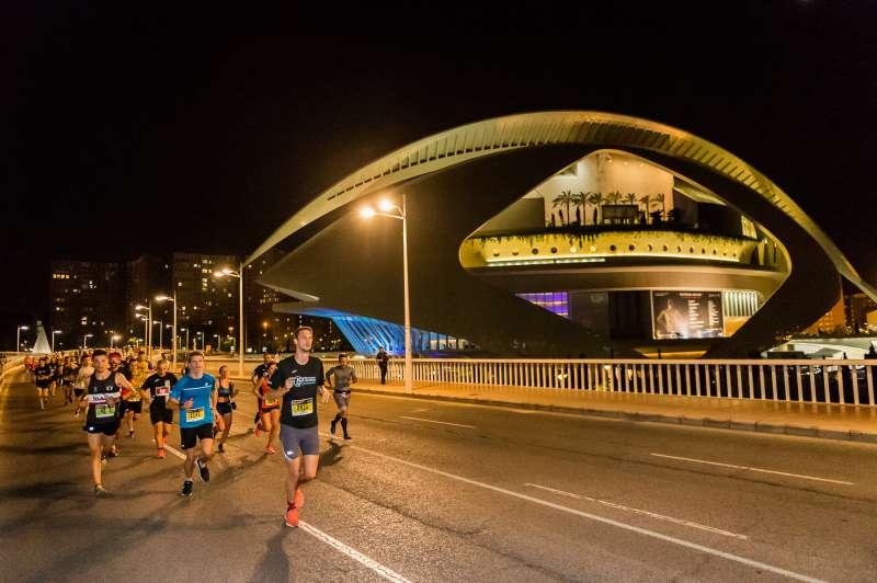 Imagen archivo de la 15K Nocturna, València. -EPDA