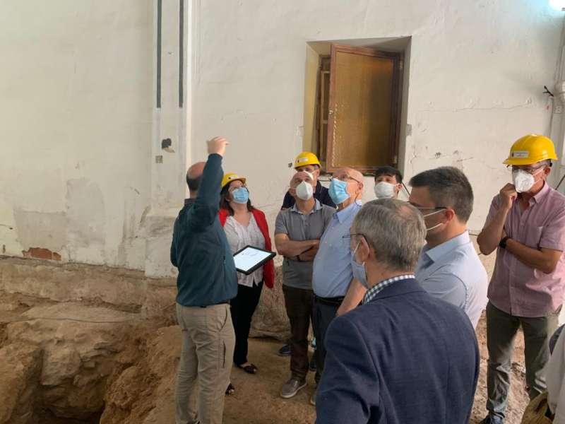 Visita a la ermita de Soneja