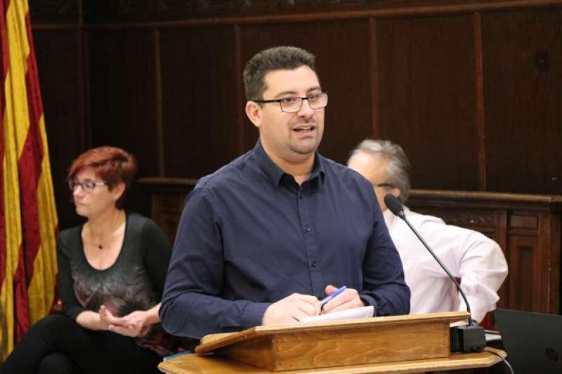 El concejal de Personal, Sergio Moreno. EPDA