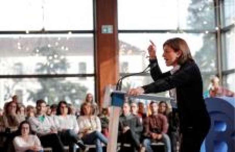 Presidenta del PP en la Comunitat Valenciana, Isabel Bonig