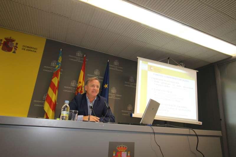 Juan Carlos Moragues, delegado de Gobierno en la CV.
